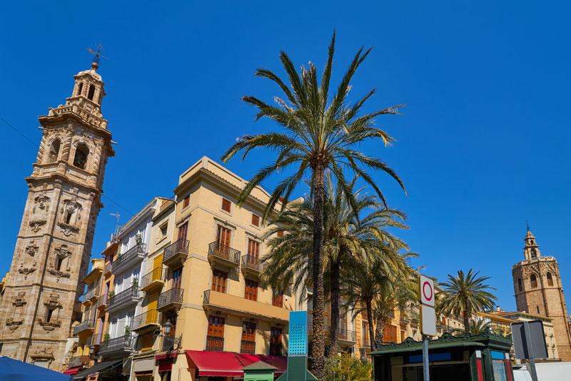 Toren in Valencia