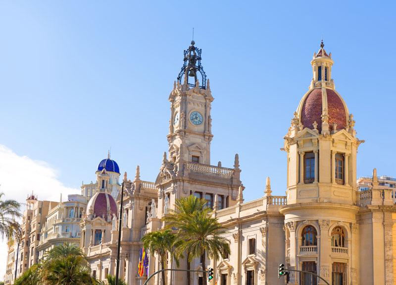 Bezienswaardigheden Valencia
